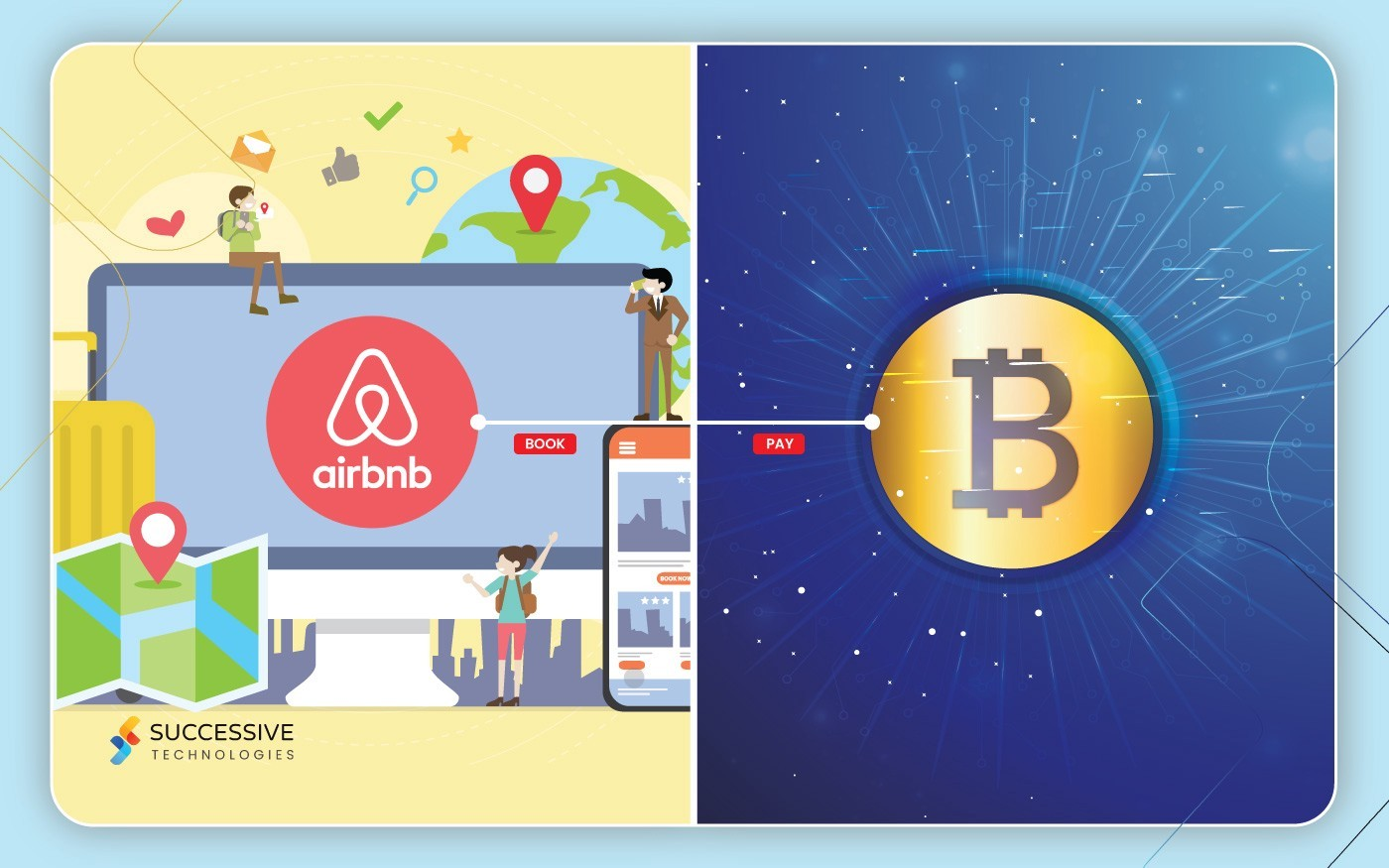 Airbnb with Bitcoin