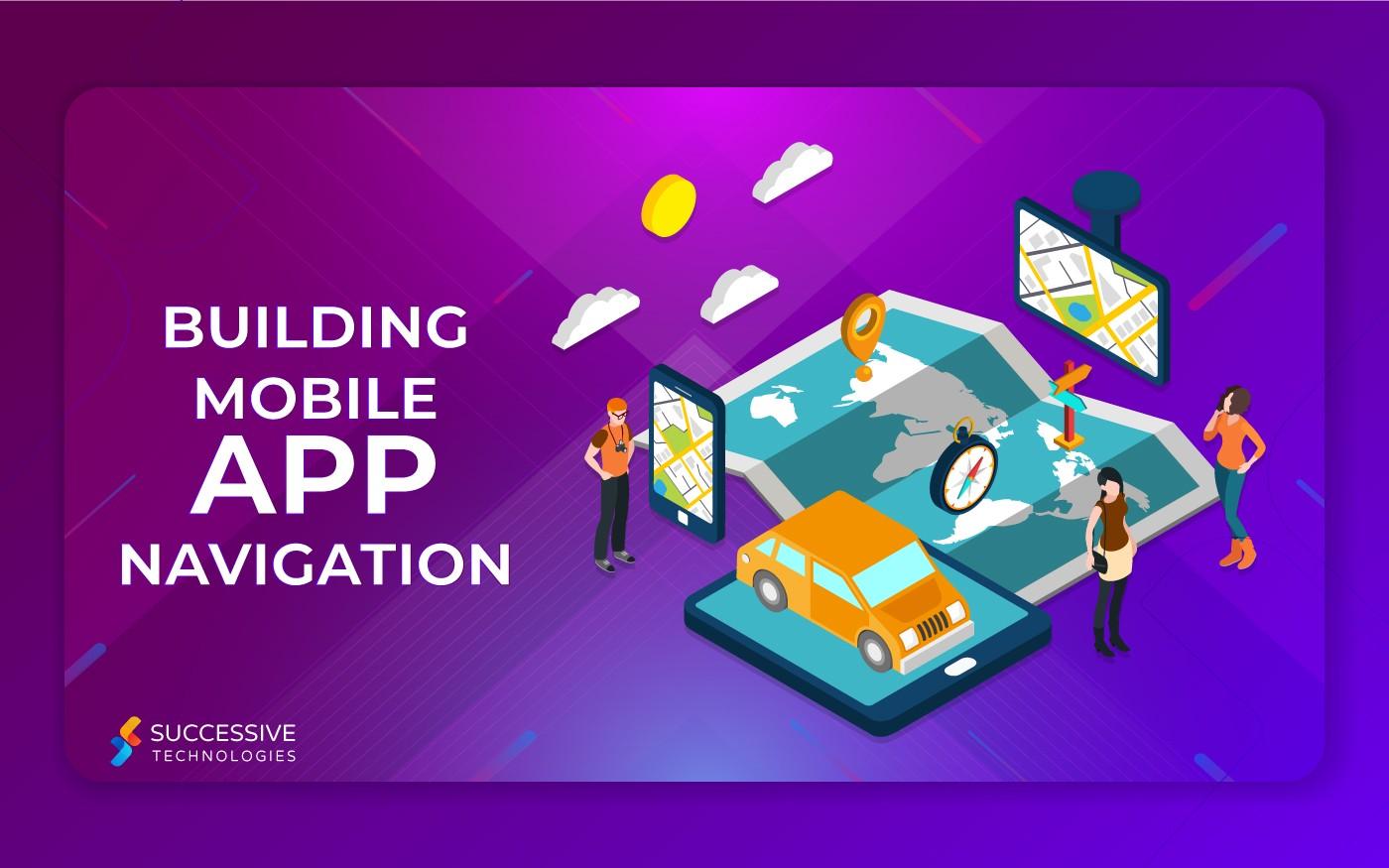 Mobile app nevigation