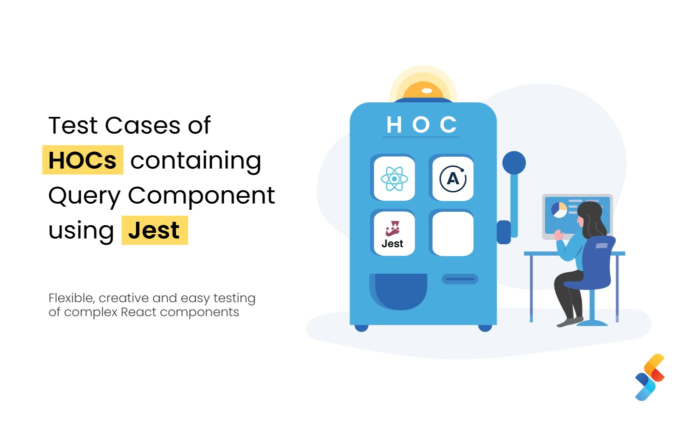 Test Cases of HOCs containing Query Component using Jest