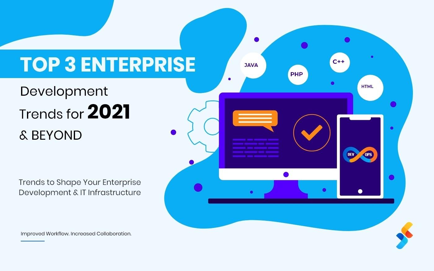 Top 3 Enterprise Developer  Trends for 2021 and Beyond