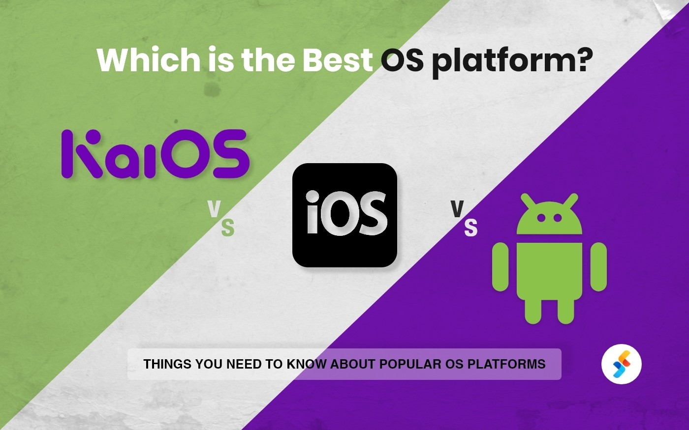 KaiOS vs IOS vs Android Operating Systems