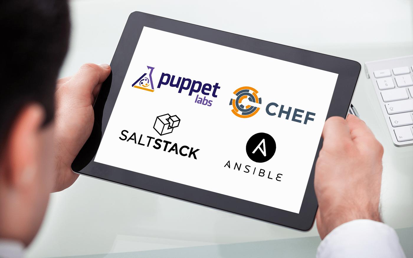 Chef vs. Puppet vs. Ansible vs. Saltstack: A Complete Comparison