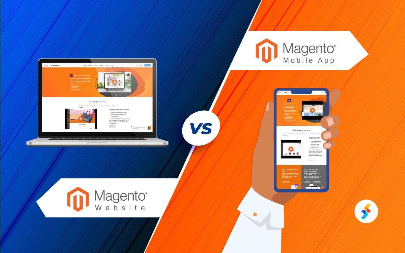 Magento Website vs. Magento Mobile App