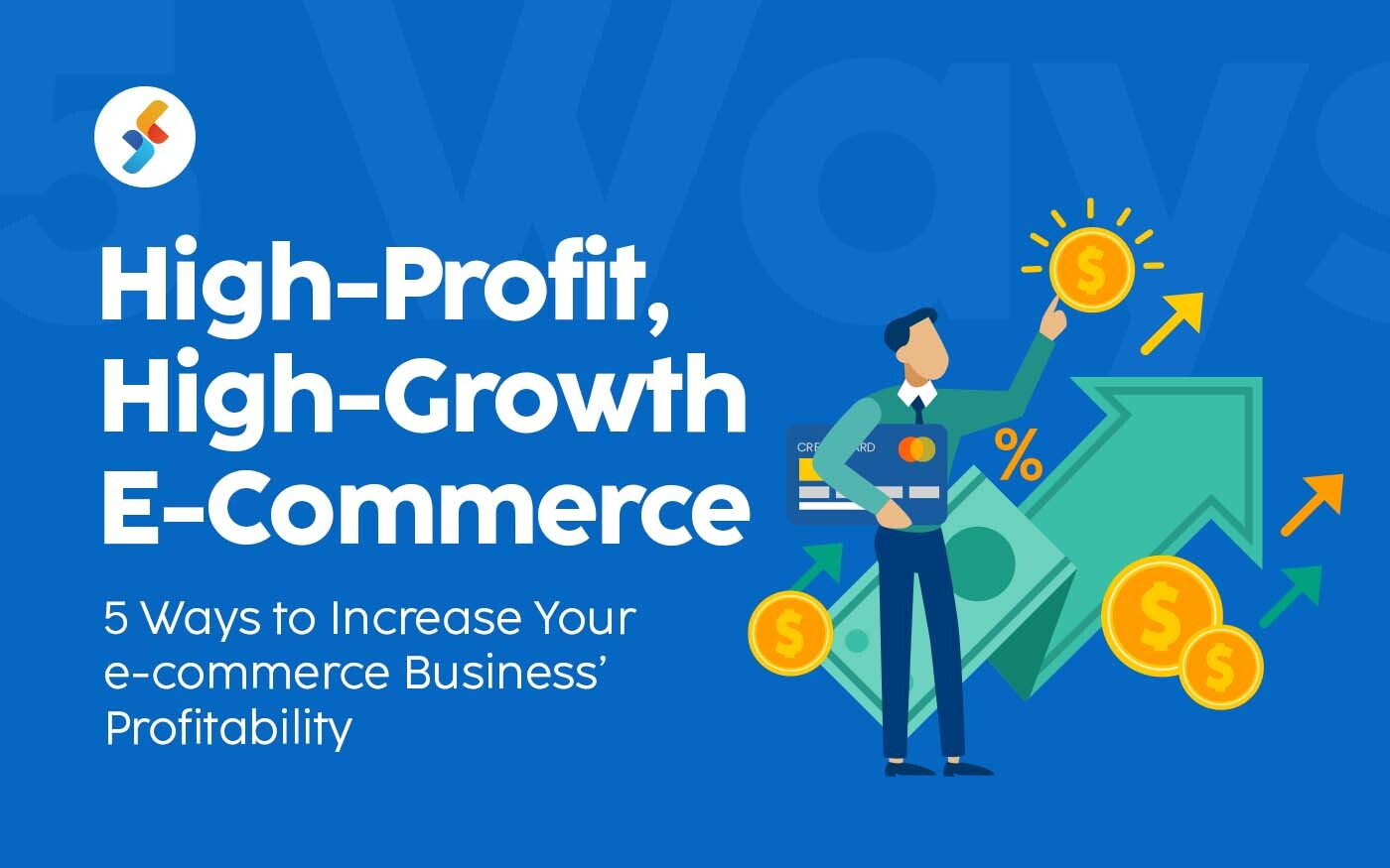 High-Profit, High-Growth E-Commerce: 5 Ways to Increase the Profitability of Your E-commerce Business